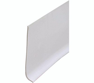 MD Building Products 23944 4 Inch By 4 Foot White Vinyl Adhs Wall Base