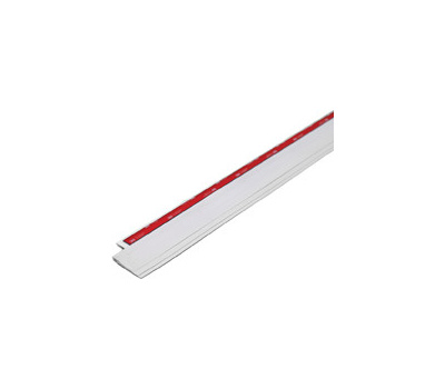MD Building Products 43301 Cinch Doorsweep Vinyl Slfadh Wh 36in