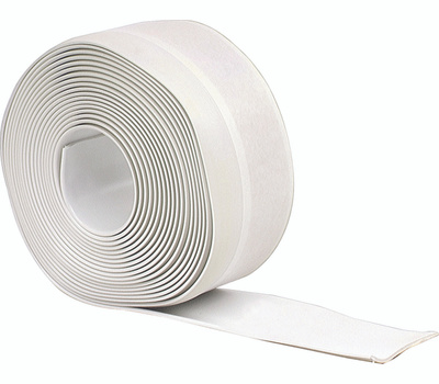MD Building Products 65770 Vinyl Wall Base 2-1/2 Inch By 20 Foot White