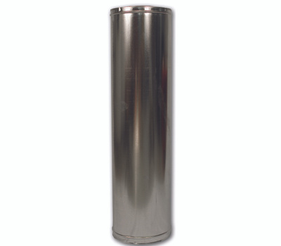 FMI 48-8DM Pipe Chimney Insulated 48in Ss