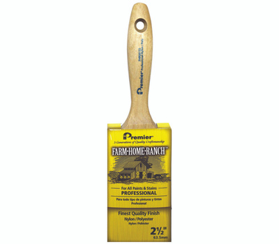 Premier Paint Roller FHR00132 Brush Paint Flat2-1/2in Nypoly