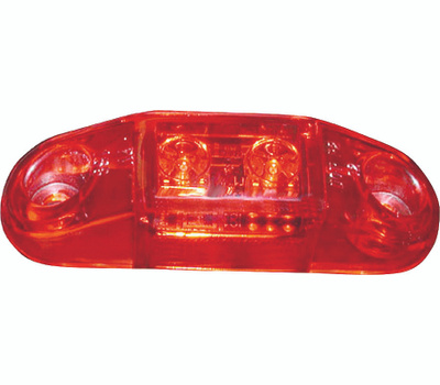 Peterson V168R Light Clearance Led Red