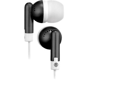 Audiovox HP61BK RCA Squish Noise Isolating Ear Buds