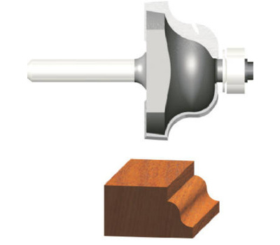 Vermont American 23150 1/4 Inch Roman Ogee Router Bit