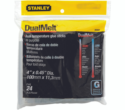 Stanley Tools GS20DT Dualmelt Glue Stick Standard 4In 24Pk 24 Pack