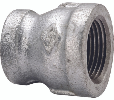 WorldWide Sourcing 24-2X11/4G 2 By 1-1/4 Inch Galvanized Reducing Coupling