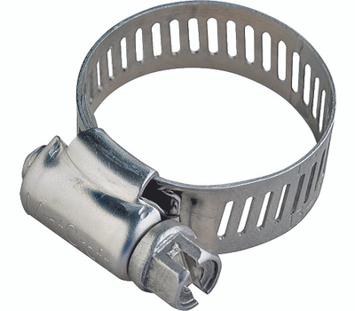 ProSource HCRSS16 Hose Clamp Stainless Steel With Stainless Steel Screw 1/2 Inch Band By 13/16 To 1-1/2 Inch Number 16