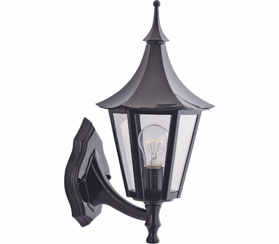 Boston Harbor AL8041-5 Fixture Porch Wlmt 1lt Black