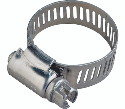 ProSource HCRSS64-3L Hose Clamp Stainless Steel With Stainless Steel Screw 1/2 Inch Band By 3-9/16 To 4-1/2 Inch Number 64