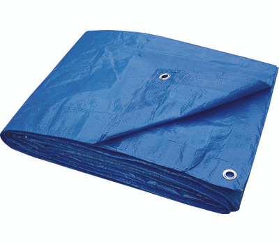 ProSource T1216BB70 Economy Blue Tarp 12 By 16 Foot Light Duty