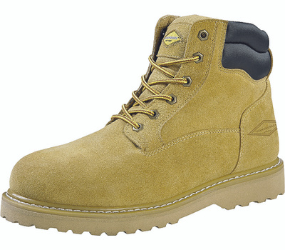 DiamondBack 1-9 Workboot 6 Inch Suede Leather Size 9