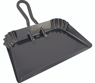 Simple Spaces DL-5006 Dust Pan 17in Black Finish