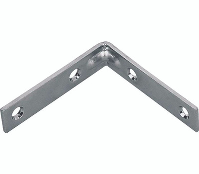 ProSource CB-G01-C4PS Corner Braces 1 By 1/2 Inch Galvanized Steel 4 Pack