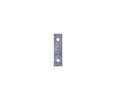 ProSource MP-Z025-C4PS Mending Plate 2-1/2 By 5/8 Inch Zinc Plated Steel 4 Pack