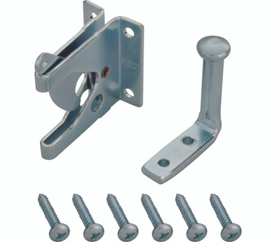 ProSource 33199ZCX-PS Gate Latch Outswinging Steel Zinc Plated