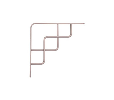 ProSource SB-035PS Decorative Shelf Bracket 8 By 8 Inch Satin Nickel