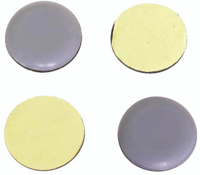 ProSource FE-50111-PS Self Adhesive Furniture Slide Glides 3/4 Inch 20mm 8 Pack
