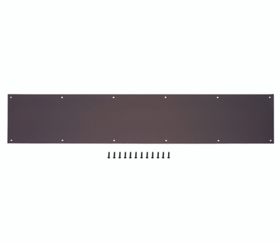 ProSource 32293ORD-PS 8 By 34 Inch Anodized Aluminum Kick Plate Oil Rubbed Bronze