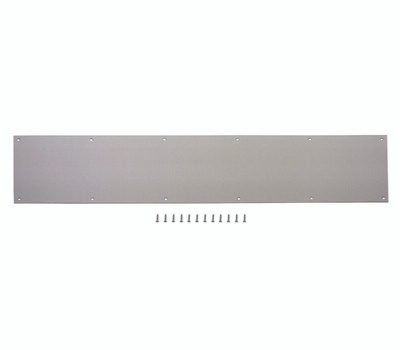 ProSource 32293TND-PS 8 By 34 Inch Anodized Aluminum Kick Plate Satin Nickel