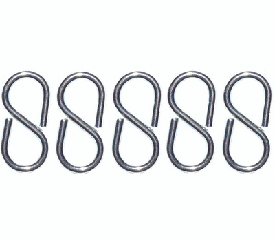 ProSource LR-375-PS S-Hook 1-5/8 Inch Closed Zinc Plated Steel