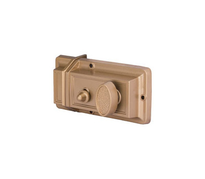 ProSource 6296453-PS Rim Night Latch With Hold Open