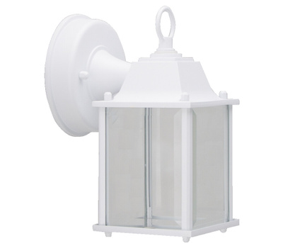 Boston Harbor 0038-WD-WH Lantern Wall Led Outdoor Wh