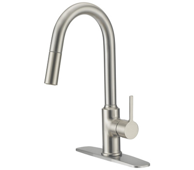 Boston Harbor FP4AF227NP Faucet Ktn Pull-Dn Contmpry Bn