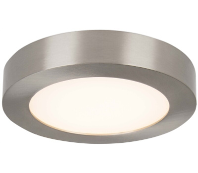 Boston Harbor CL040A BN Ceiling Fixture Led Bn 5-1/2in