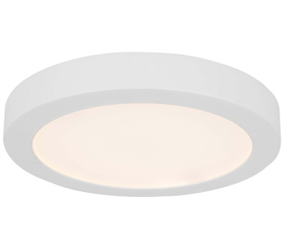 Boston Harbor CL040B WH Ceiling Fixture Led Wh 7-1/2In