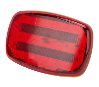 Power Zone 35706 Light Safety Magnetic Led Red