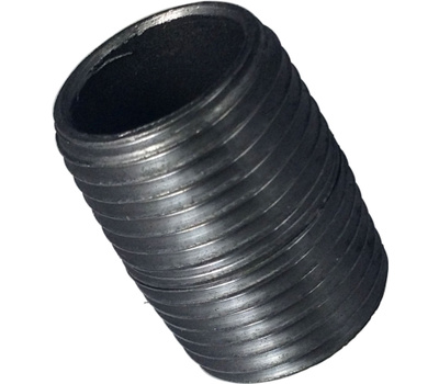 WorldWide Sourcing 1/2XCB 1/2 Inch By Close Black Pipe Nipple
