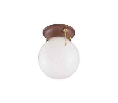 Boston Harbor F30153375 1 Light Sienna Ceiling Fixture With Pull Chain Sienna