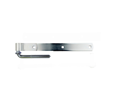 ProSource LR091 Mintcraft 14 Inch Steel Screw Hook And Strap Hinge Zinc Plated
