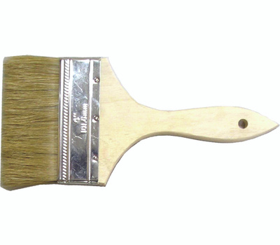 ProSource 150040 Chip White Pure Bristle Steel Wall And Varnish Brush 4 Inch