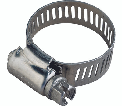 ProSource HCRAN40 Hose Clamp Stainless Steel With Carbon Steel Screw 1/2 Inch Band By 2-1/16 To 3 Inch Number 40