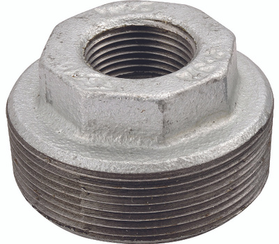 WorldWide Sourcing PPG241-40X15 1-1/2 By 1/2 Inch Galvanized Pipe Bushing