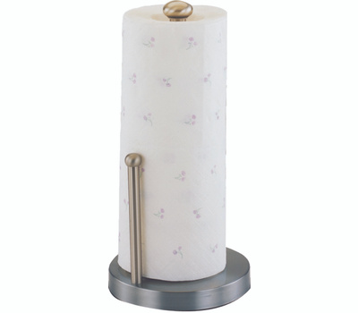 Simple Spaces L1070-26-02-M Satin Nickel Paper Towel Holder