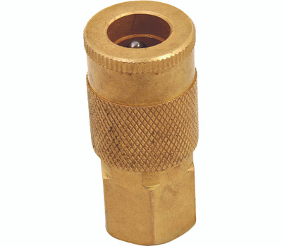 ProSource ATA-055 1/4 Inch Brass Female Quick Coupler