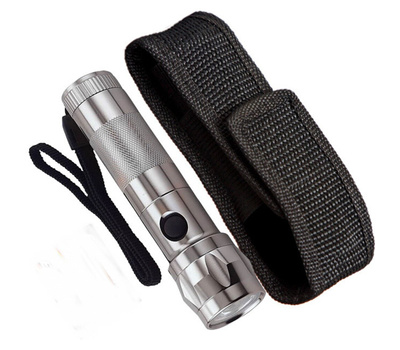 Power Zone HL-007 Extremely Bright Luxeon Star LED Aircraft Aluminum Flashlight