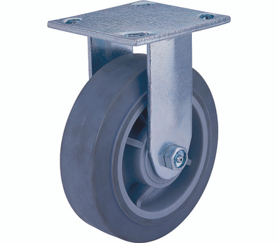 ProSource JC-T07 8 By 2 Inch Rigid Thermoplastic Rubber Plate Caster