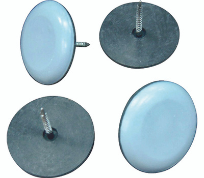 ProSource FE-S213 Mintcraft 1-3/16 Inch Nail On Furniture Glides 4 Pack