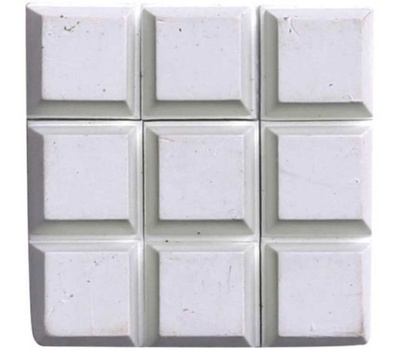 ProSource FE-S403 Mintcraft 1/2 Inch Square White Rubber Bumpers