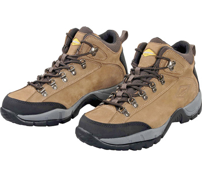DiamondBack HIKER-1-9.53L Tan Nubuck Leather Hiker Style Boot Size 9 1/2 Medium