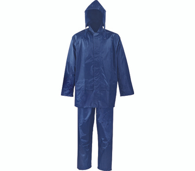 DiamondBack SPU045-M Rainsuit Polyester Blue 2Pc M