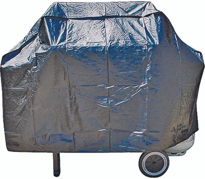 Omaha SPC043L 53 By 18 By 34 Inch Black Grill Cover