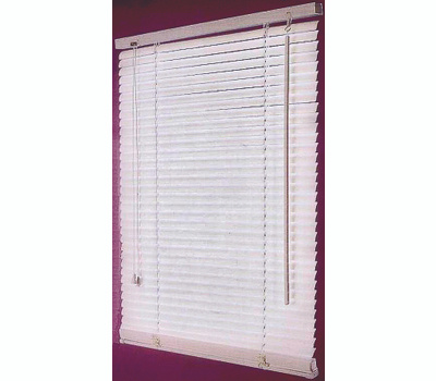 HomeBasix FWB-47X64-3L 47 Inch Width By 64 Inch Height Faux Wood Blinds White