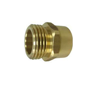 Landscapers Select PMB-468-3L 3/4 By 3/4 Inch Brass Hose Adapter