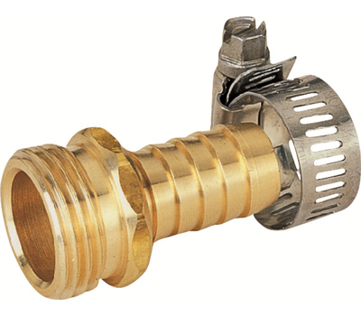Landscapers Select GB958M3L 5/8 To 3/4 Inch Male Brass Hose End Repair
