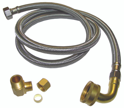 Plumb Pak PP23834 3/8 Comp By 3/8 Mip By 72 Inch Dishwasher Connector