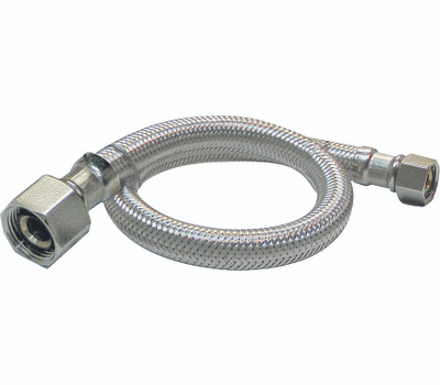 Plumb Pak PP23799 1/2 By 1/2 By 30 Inch Stainless Steel Supply Tube